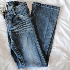 *~SALE!! Mudd Brand Front Lace Up Jeans~*